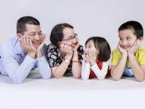 Cách tạo dáng khi chụp ảnh gia đình 4 người