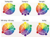 Các cách phối màu cơ bản